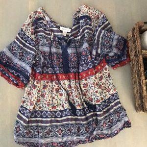 Motherhood maternity tunic style XL